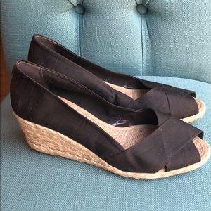 Ralph Lauren Peep Toe wedge sandal